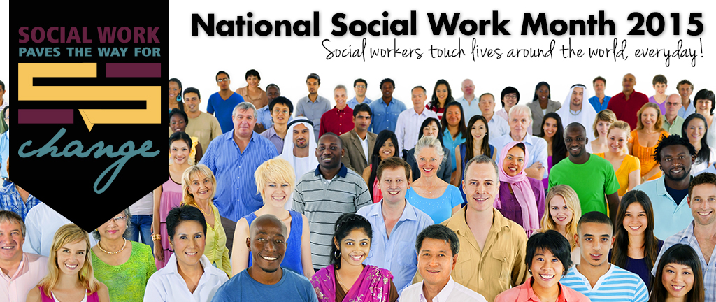 Social Work Month 2015 Homepage Slide