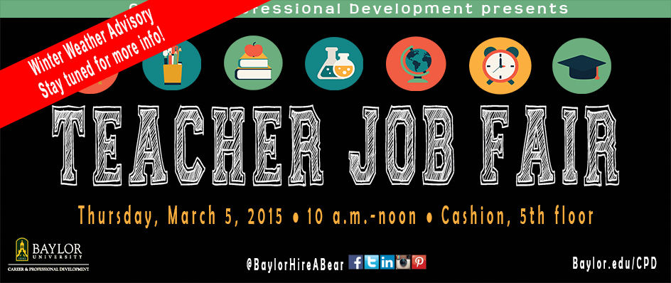 Teacher <br>Job Fair