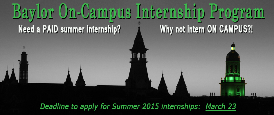 On-Campus <br>Intern Program