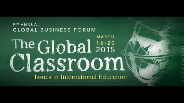 Global Biz Forum banner