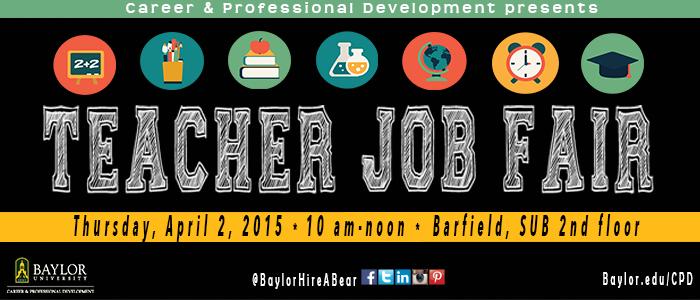 Banner: CPD Teacher Job Fair