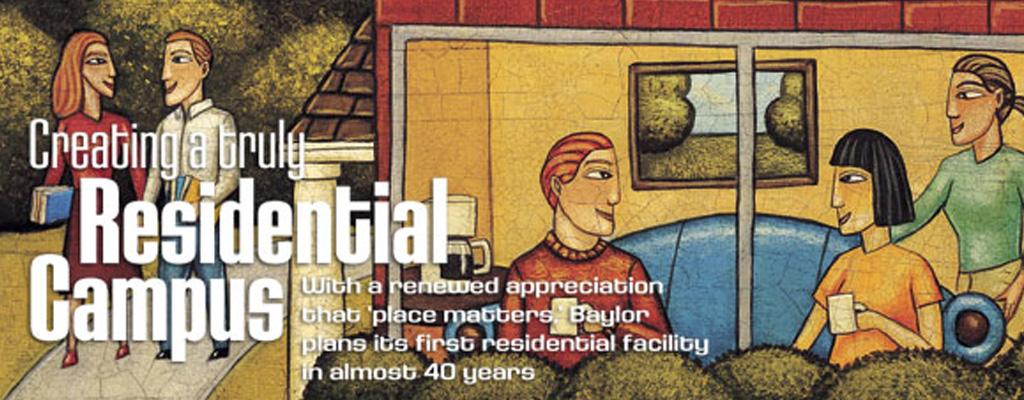 Baylor Magazine Cover