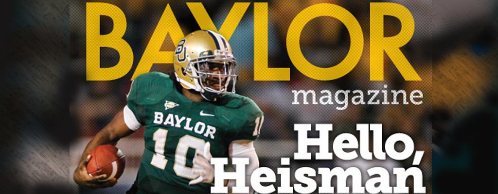 Baylor Magazine Cover Story: Hello, Heisman