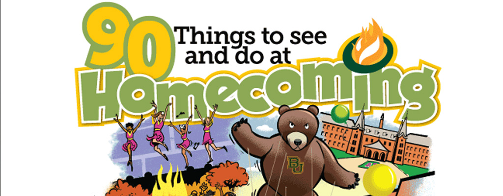 90 things to see and do at Homecoming