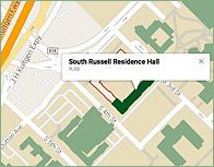 South Russell Thumb Map