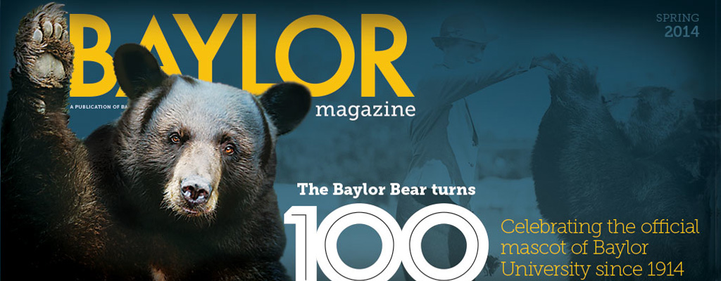 Text treatment of magazine cover and cover story: the bears at 100 years