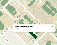 Allen Thumb Map