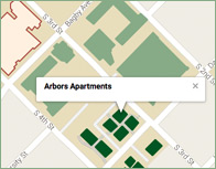 Arbors Thumb Map