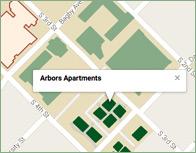 Arbors Thumb Map