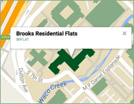 Brooks Flats Thumb Map