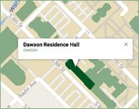 Dawson Thumb Map