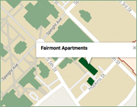 Fairmont Thumb Map