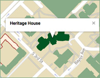 Heritage House Thumb Map