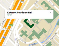 Kokernot Thumb Map