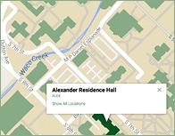 Alexander Thumb Map
