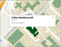 Collins Thumb Map