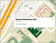 Penland Thumb Map