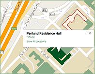 Penland Thumb Map