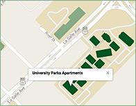 University Park Thumb Map