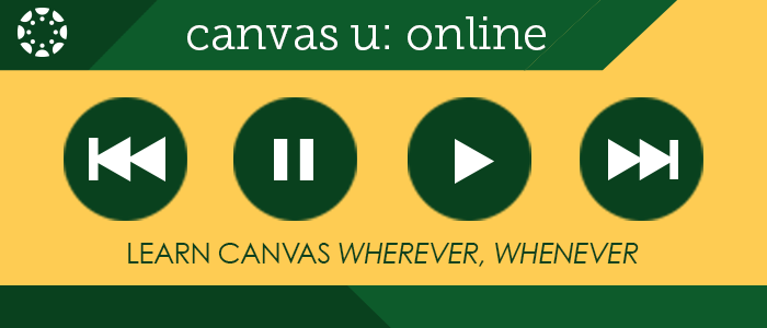 Banner: Canvas U Video Graphic