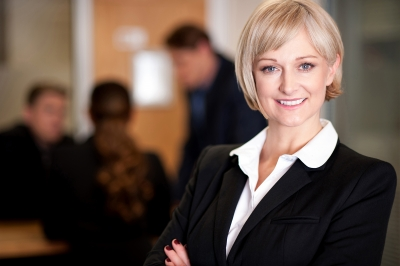 Stock photo of a businesswoman