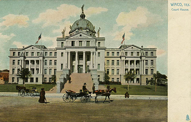 Courthouse Souvenir Postcard