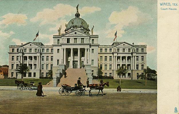 Courthouse Souvenir Postcard