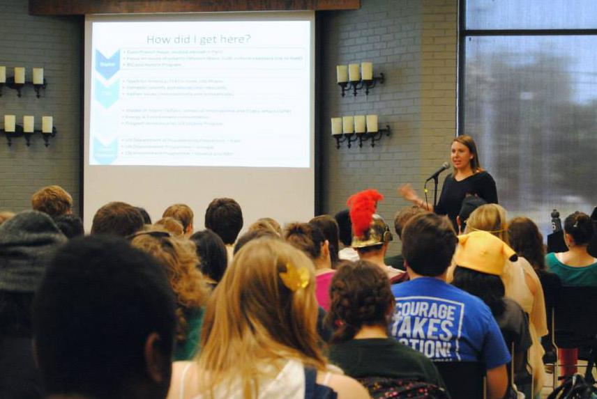 alumni lecture