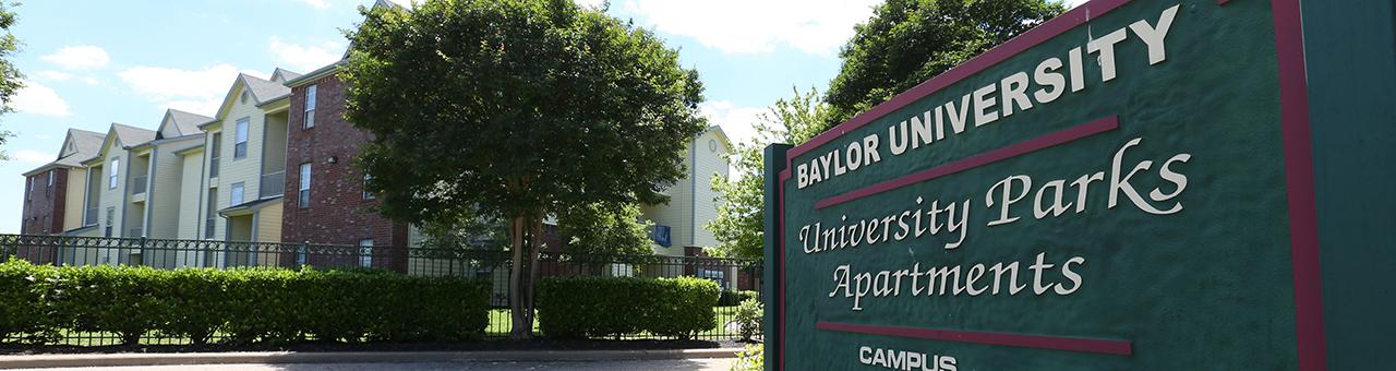 University Parks Apartments Baylor