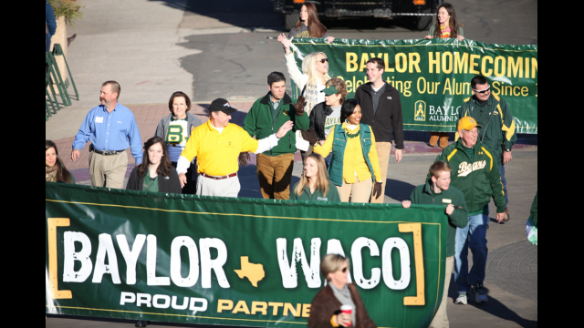 President Starr Homecoming Parade