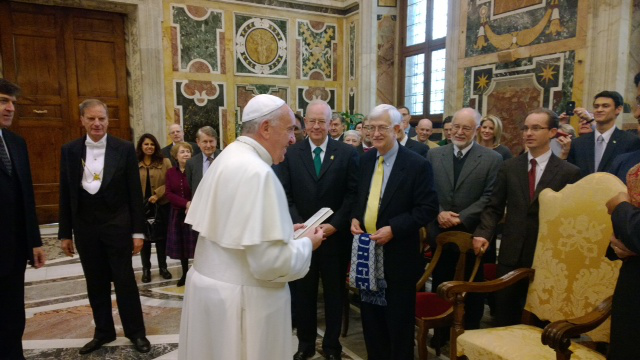 President Starr Pope Francis