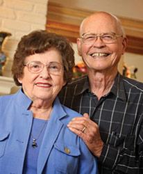 Bob and Joyce Packard