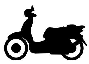 Moped symbol