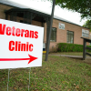 [Veterans Clinic Sign]