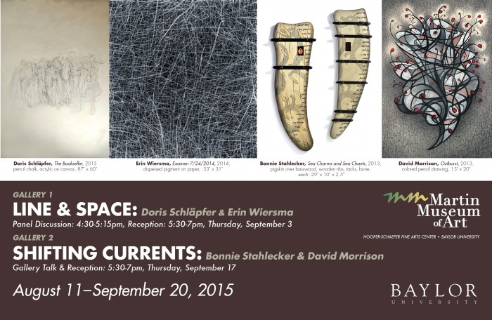 Fall 2015, Line & Space and Shifting Currents