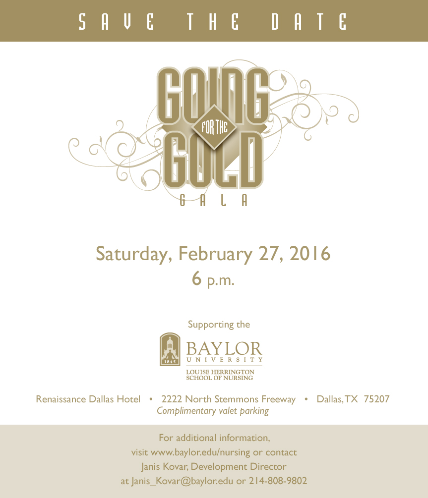 2016 - Gala Save the Date