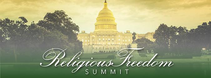 Religious Freedom Summit Banner