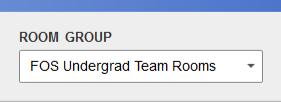 Visualization of menu choice - Room Group