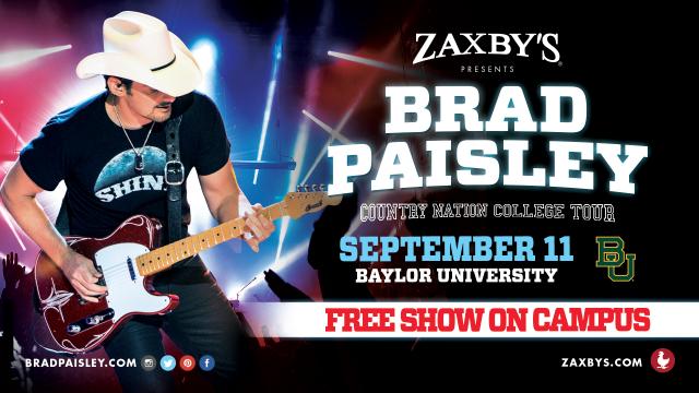 Brad Paisley's College Tour