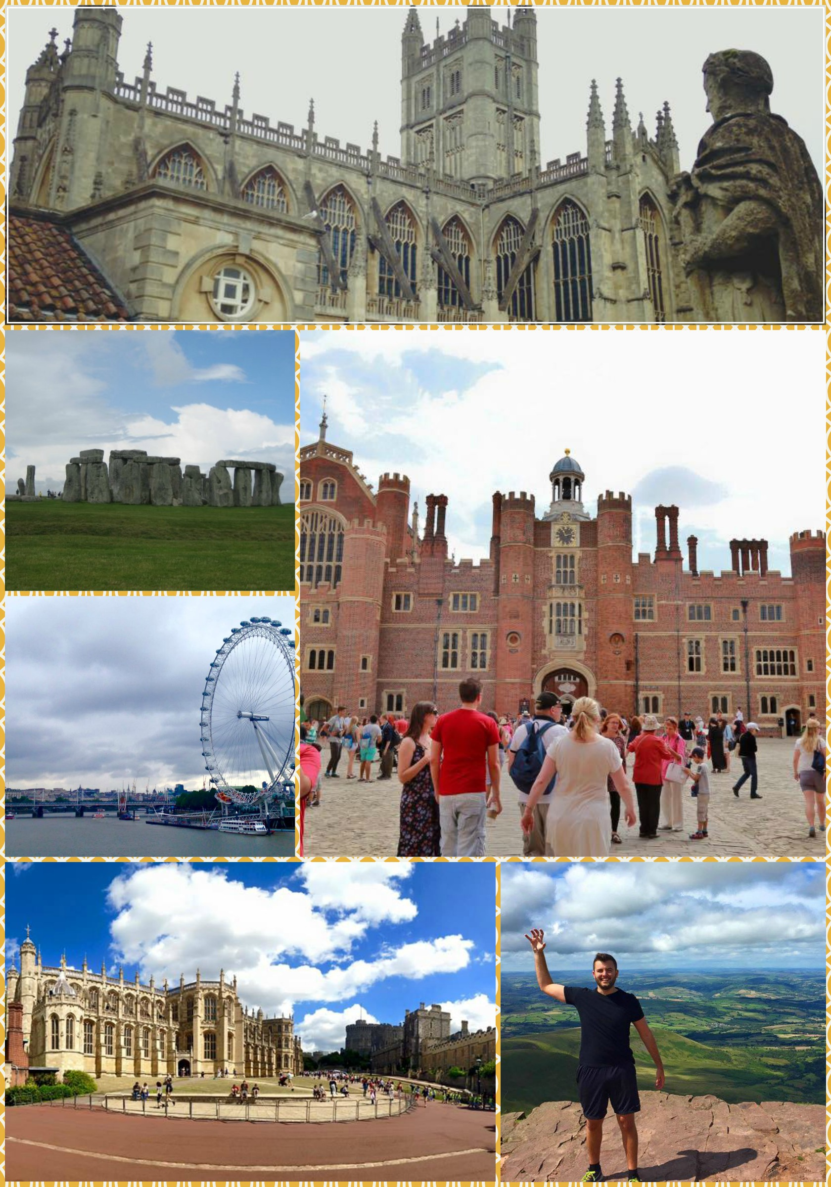 Baylor in London Travel Pics