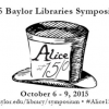 Honors College Student Is a Panelist at Library's Symposium on 'Alice's Adventures in Wornderland'