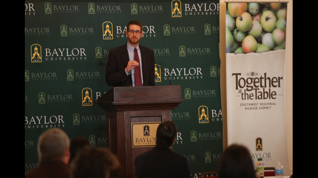 National Commission on Hunger Members to Discuss Progress and Goals at Together at the Table: Hunger and Poverty Summit Oct. 7-9 at Baylor