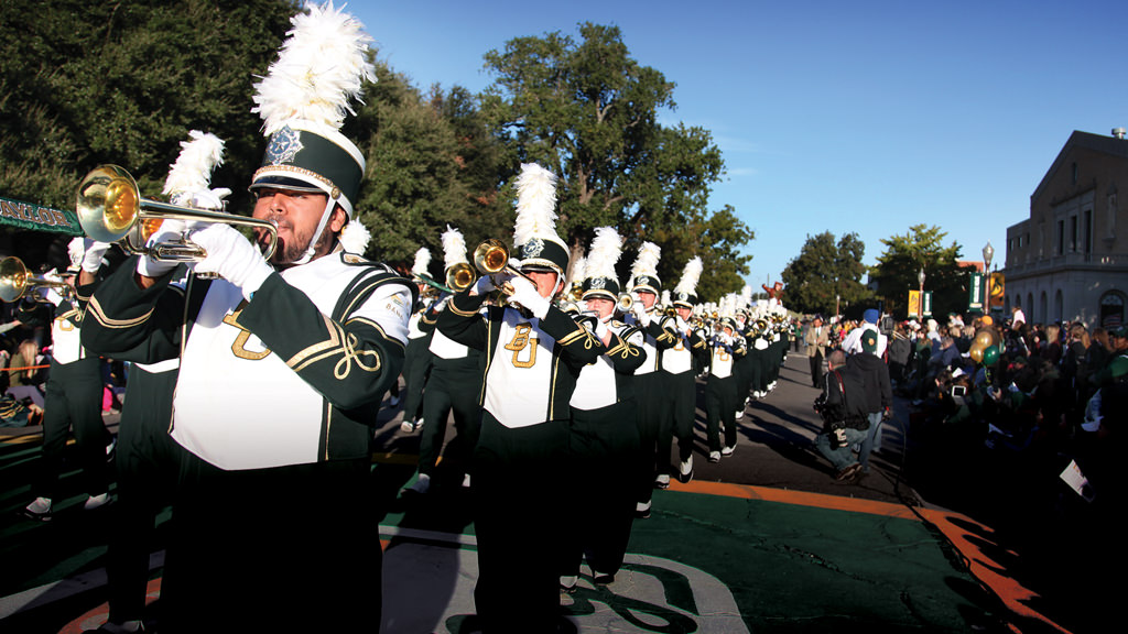 Baylor University Golden Wave Band