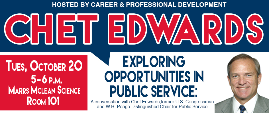 Conversation with <br>Chet Edwards