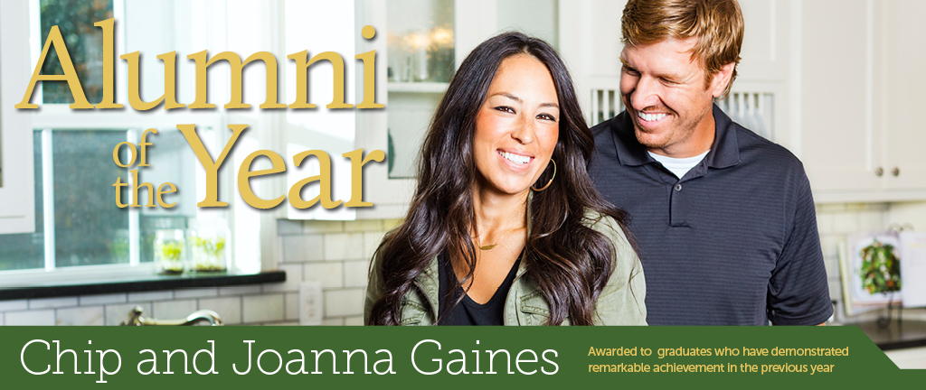 Alumni Of The Year Chip And Joanna Gaines Baylor Magazine Fall