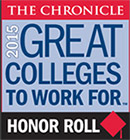 Chronicle: Great Colleges to Work for - 2015