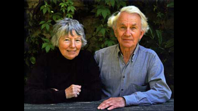 Ann and Anthony Thwaite
