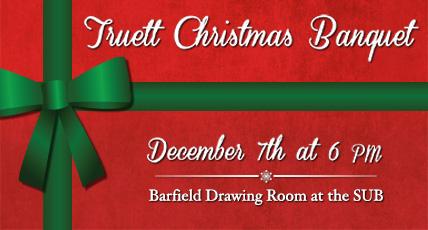 Truett Christmas Banquet
