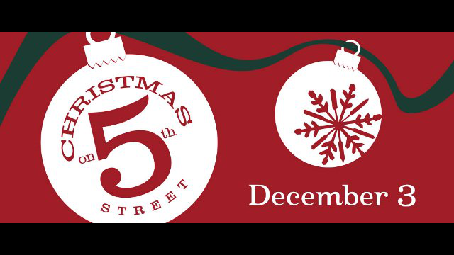 Christmas on 5th logo