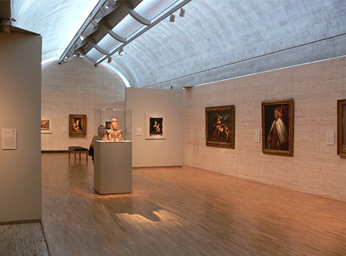 Photo of the Kimbel Museum in Fort Worth